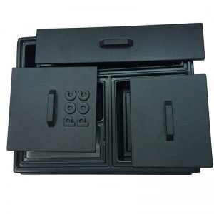 Vacuum Forming Black Cutlery Tray Wholesale
